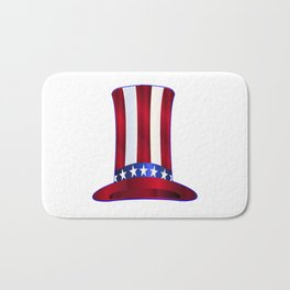 Uncle Sam's Tall Hat Bath Mat
