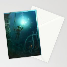 The Abyss Stationery Cards