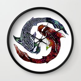 Yin Yang Part 2 Wall Clock
