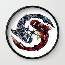 Yin Yang Part 2 Wall Clock