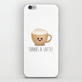 Thanks A Latte iPhone Skin
