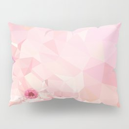 Pink Geometric Patter Pillow Sham