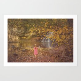 Fall Wonderland Art Print