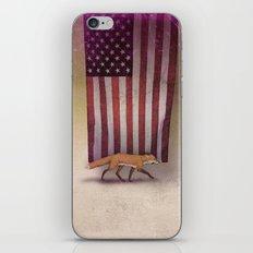 the Fox & the Flag iPhone & iPod Skin