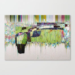 Dripping Speculation Canvas Print
