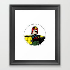 Judge Dredd Framed Art Print