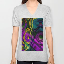 Surrounded Unisex V-Neck