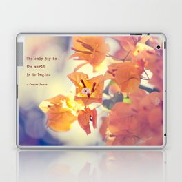 Begin with Joy Laptop & iPad Skin