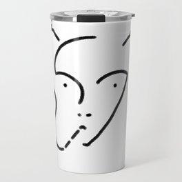 Alien Line Travel Mug