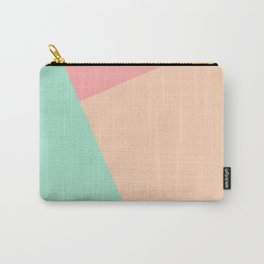 Pastel Geometric print Carry-All Pouch