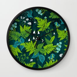 Magic Forest Wall Clock