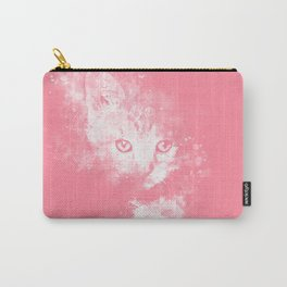 abstract young cat wspw Carry-All Pouch