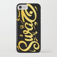 swag iPhone & iPod Cases featuring SWAG by Mikhaa