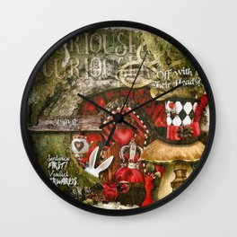 Queen of the Hearts Wall Clock