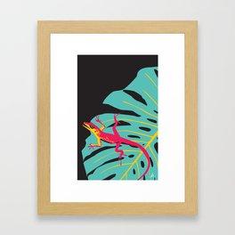 Anolis Framed Art Print