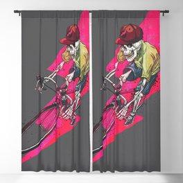 rapid bones Blackout Curtain