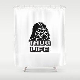 Thug Life Shower Curtain