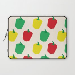 Rainbow Bell Peppers Paprika Laptop Sleeve