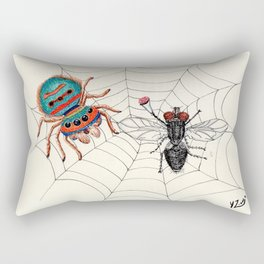 Happy Saint Valentine´s Day Rectangular Pillow