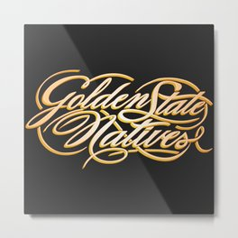 Golden State Natives Metal Print
