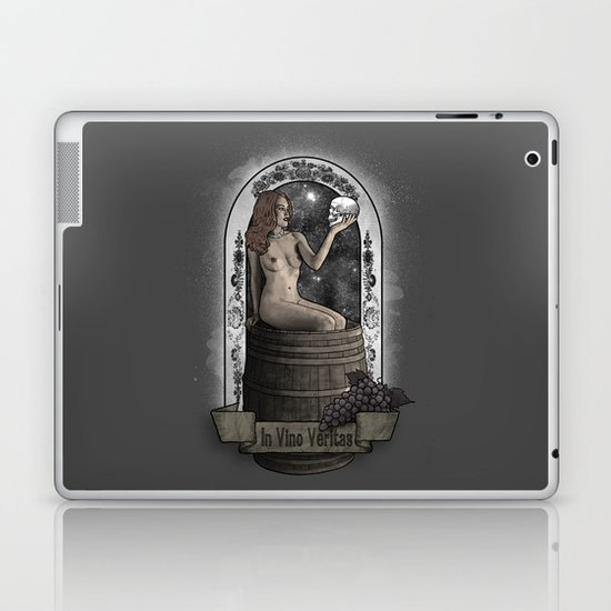 In Vino Veritas Laptop & iPad Skin