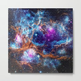 Lobster Nebula Metal Print