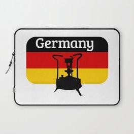 Pressure Stove with German Flag Laptop Sleeve
