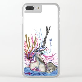 The nature woman Clear iPhone Case