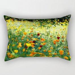full of flower power Rectangular Pillow