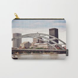 Frederick Douglass–Susan B. Anthony Memorial Bridge | Rochester NY Carry-All Pouch