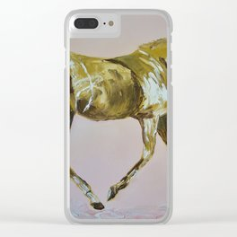 SAY NUP TO THE CUP Clear iPhone Case