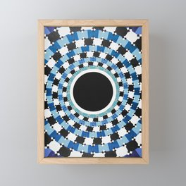 Black Hole Sun Framed Mini Art Print