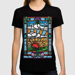 Sunrise Stained Glass Window T-shirt
