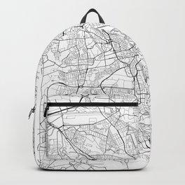 Hanover Map White Backpack