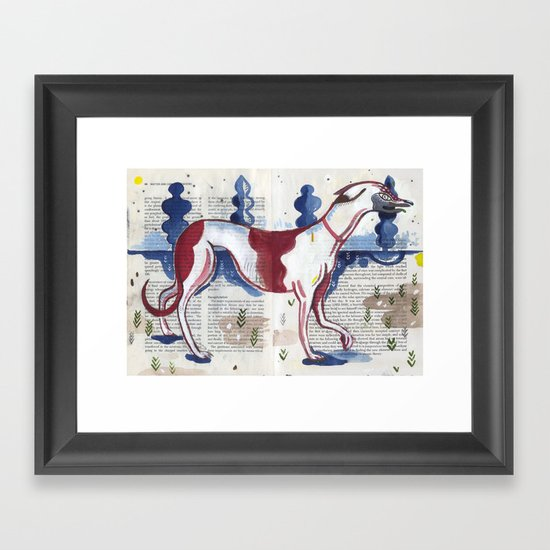 Italian Greyhound Framed Art Print