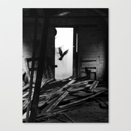 Abandoned Buildings have also Dwellers Canvas Print
