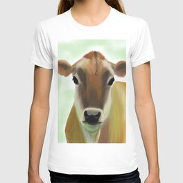 The Jersey - the prettiest cow in the world T-shirt