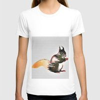 squirrel T-shirts featuring squirrel by KrisLeov