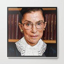 Ruth Bader Ginsburg Metal Print
