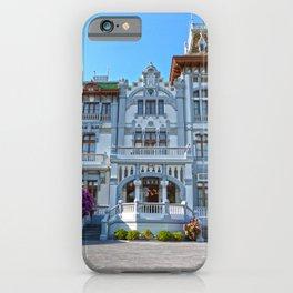 Hotel en Ribadesella iPhone Case