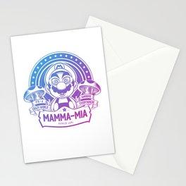 Mamma Mia Super Mario is-a Crazy Stationery Cards
