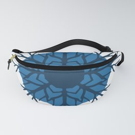 Solid Roots Wreath (Blue) Fanny Pack