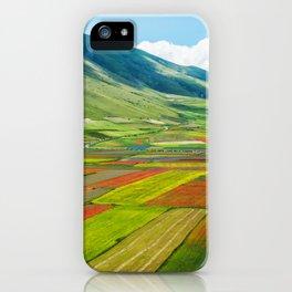 Castelluccio di Norcia iPhone Case