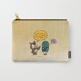 blathers and brewster Carry-All Pouch