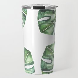 Monstera #society6 Travel Mug