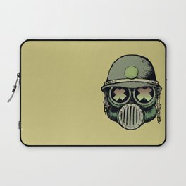 War Skull Laptop Sleeve