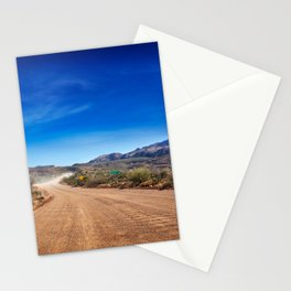 Apache Trail dirt road Stationery Cards