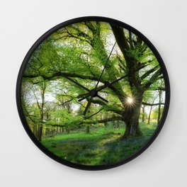 To Swing On The Tree Of Hope Wall Clock