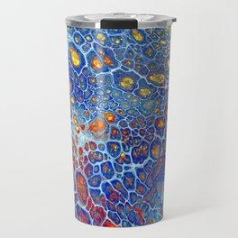 Dragonskin - Abstract Flow Acrylic Travel Mug