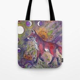 Vulpes Vulpes Equinox Tote Bag